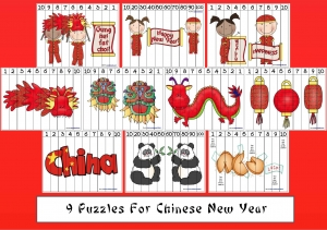 Puzzles For Chinese New Year