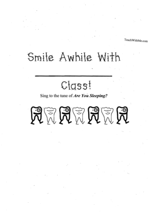 Booklet: Smile Awhile With my Class