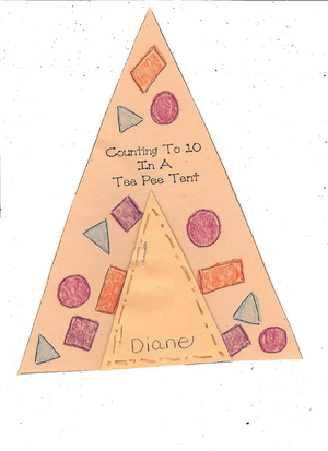 Booklet: Counting to 10 in a Tee Pee Tent