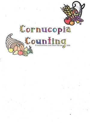 Booklet: Cornucopia Counting
