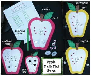 Apple Math Mat