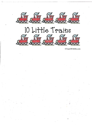 Booklet: 10 Little Trains