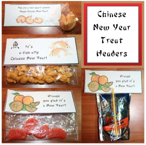 Chinese New Year Treat Bags