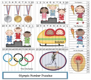 Olympic Number Puzzles