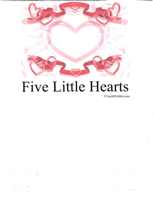 Booklet: 5 Little Hearts