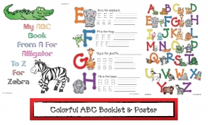 ABC Zoo Book