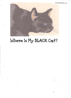 Booklet: Where Is My Black Cat?