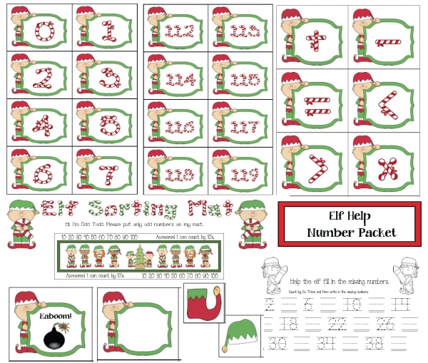Elf Number Packet