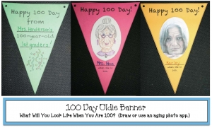 100 Day Oldie Banner
