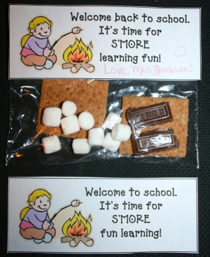 Back To School S'mores