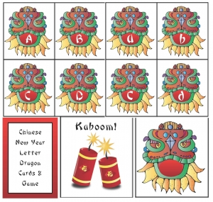 Chinese New Year Alphabet Cards
