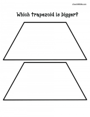 Which Trapezoid Is Bigger