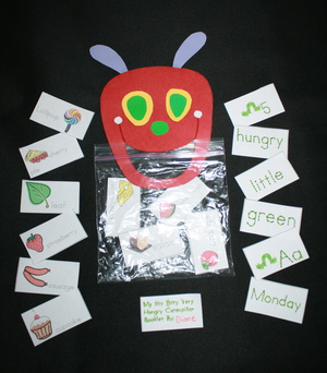 The Very Hungry Caterpillar Activities Packet