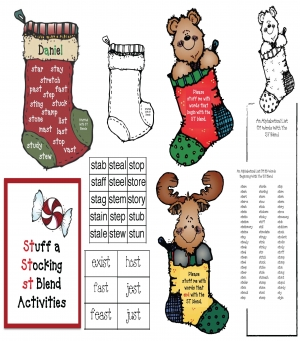 Stuff It ST Blend Activities