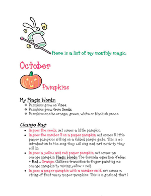 Magic Tricks For October Free Article