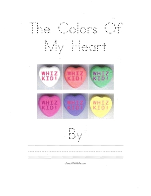 Easy Reader Booklet: The Colors Of My Heart