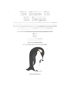 Booklet:The Shapes On My Penguin