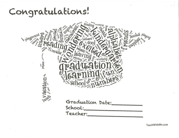 Graduation Word Art